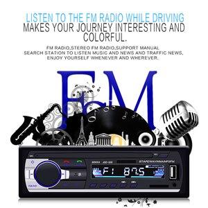 Image 3 - Camecho autorradio estéreo con Bluetooth para coche, receptor de entrada Aux, FM, SD, USB, JSD 520, 12V, en tablero, reproductor Multimedia MP3, 1 din