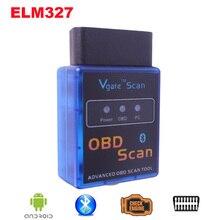 mini ELM327 Bluetooth V2 1 OBDII OBD2 ELM 327 Car detector font b Diagnostic b font