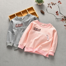 Promotional children spring and autumn sweater 2018 baby thin section long-sleeved children's casual boy shirt