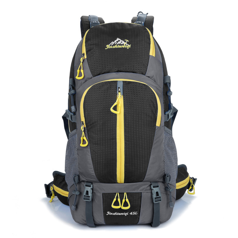 ФОТО 45L Outdoor Backpack Climbing Bag Unisex Travel Camping Outdoor Sport Backpack