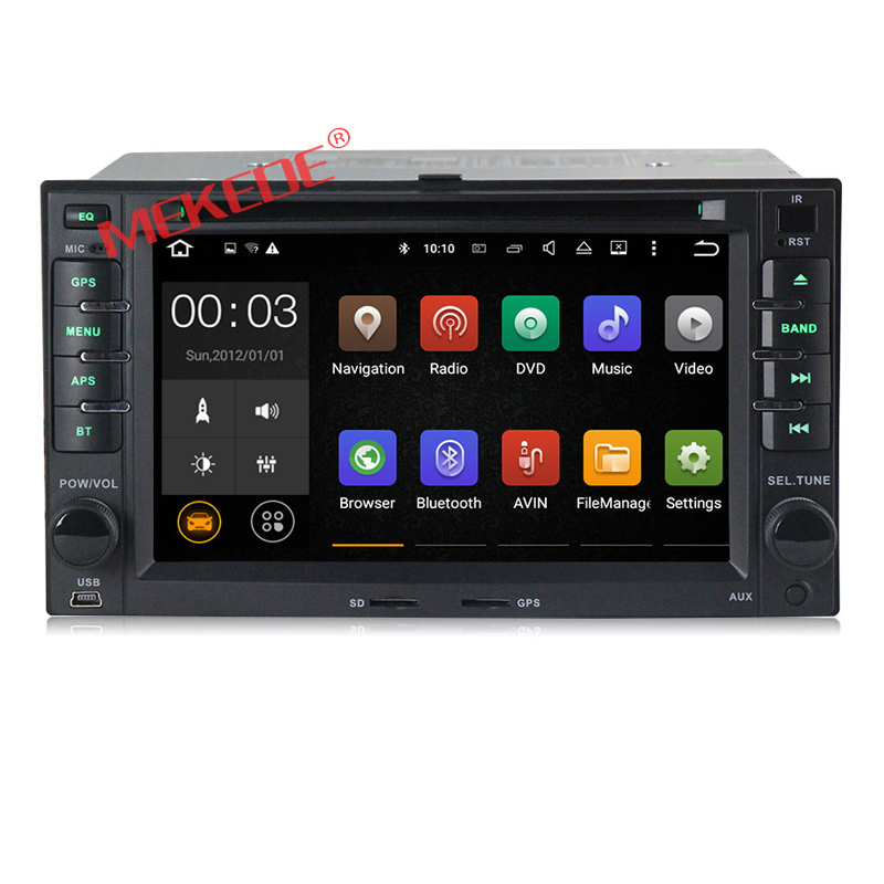 Pure Android 7 1 font b Car b font stereo head unit navigation GPS DVD player