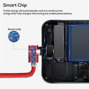 Image 5 - Acgicea 90 תואר מגנטי כבל USB סוג C טעינה עבור סמסונג S8 S9 בתוספת מגנט תשלום מהיר לxiaomi Huawei מטען כבלים