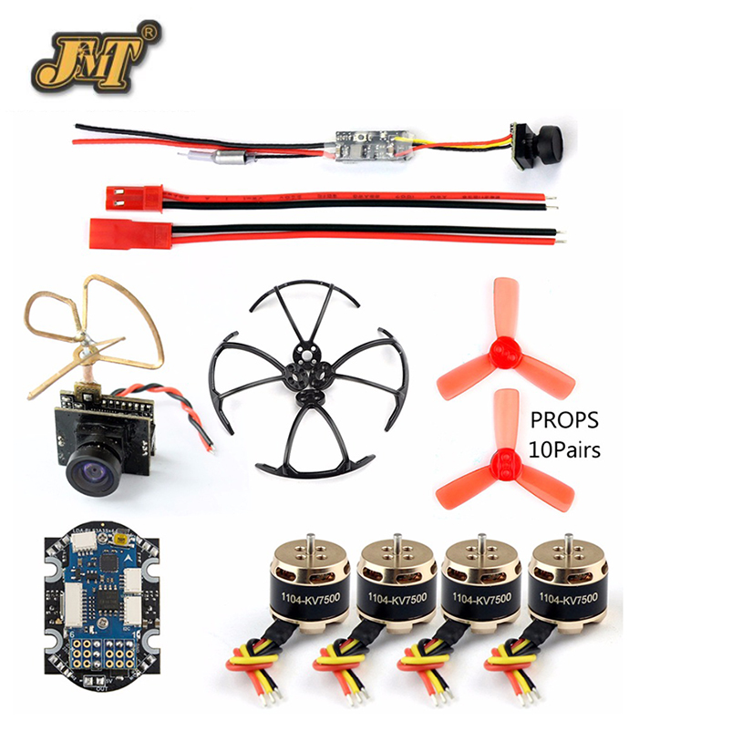 DIY 4 Axis Mini Quadcopter Accessory Brushless Motor 4in1 F3 Flight Controller with ESC for RC Racer Drone with 25mw Camera TX f02015 f 6 axis foldable rack rc quadcopter kit with kk v2 3 circuit board 1000kv brushless motor 10x4 7 propeller 30a esc