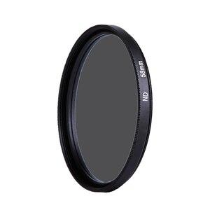 Image 3 - Caenboo 49 ملليمتر عدسة nd تصفية nd2 4 8 عدسة حامي محايد الكثافة 52 ملليمتر nd16 nd32 عدسة مرشح حقيبة لكانون نيكون كاميرا dsrl