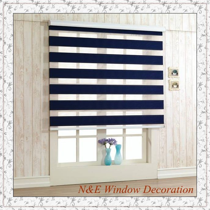 Modern Curtain Shade Blinds For Windows Hanging Room Divider