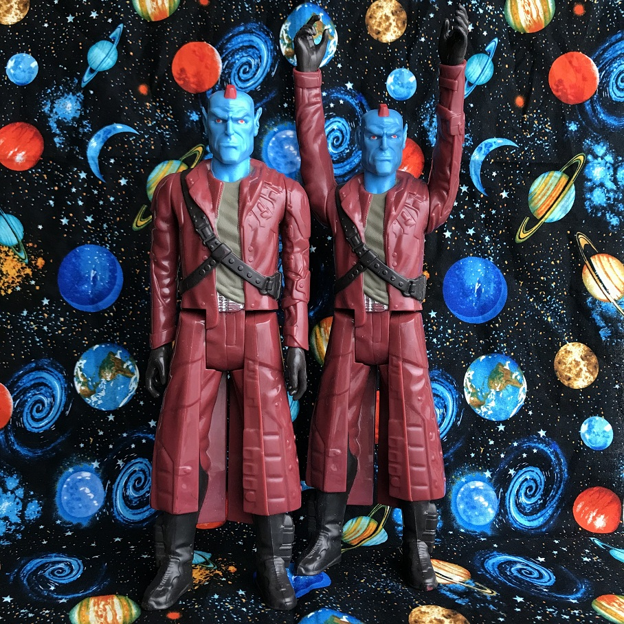 1pc Classic Toy Original Marvel 12 Garage Kit Figurine Guardians 0f The Galaxy - Yondu PVC Figure Jointed Doll Model Toy Kids