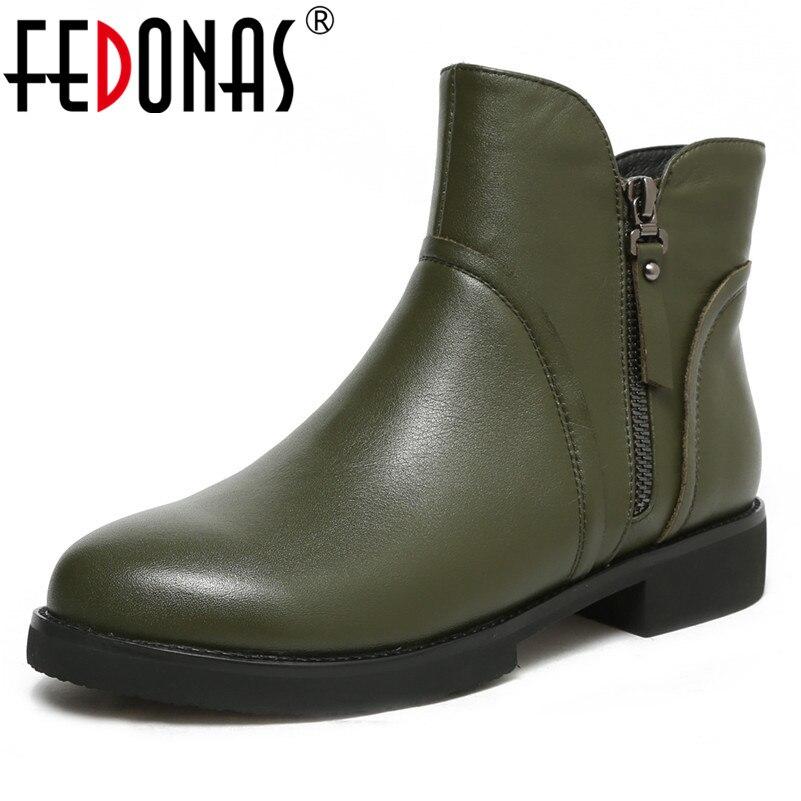 FEDONAS Fashion Basic Boots High Heels Round Toe Motorcycle Boots Tassels Classic Design Autumn Winter Shoes Woman Ankle Boots недорго, оригинальная цена