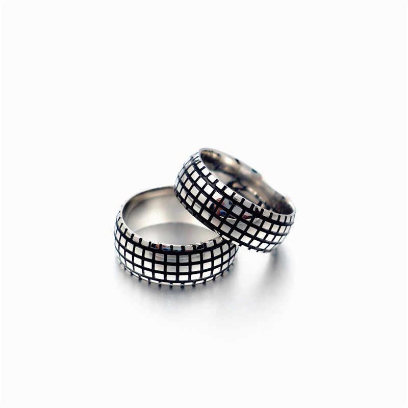 אופנה מותג טיטניום פלדה מצופה Vintage Tiffan קרטר אהבת טבעת לגברים/נשים בולגריה Anillos תכשיטים