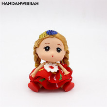 1pcs 9CM Bridal Confused Doll Fat Toys Wedding Models Creative Gifts Girls Random Color The New Best-Selling