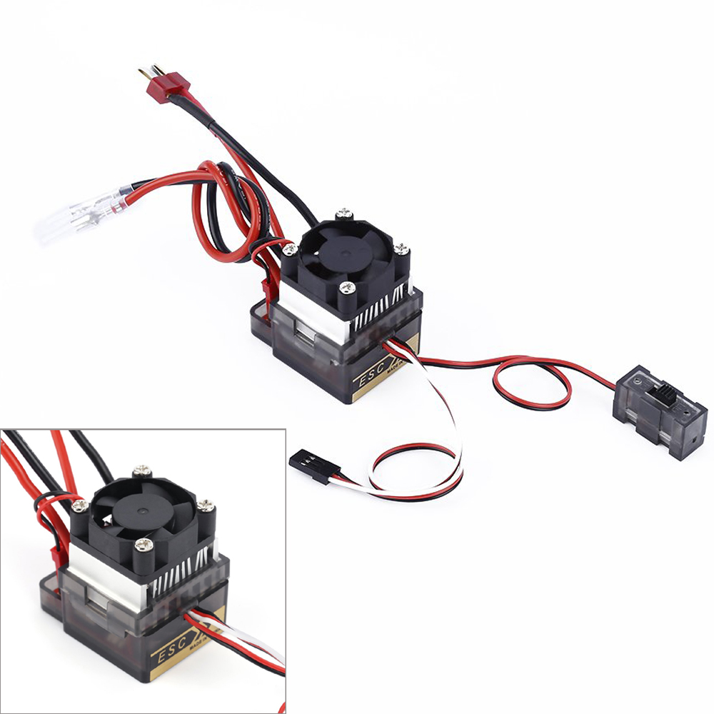 320A High Voltage ESC Brushed Speed Controller for RC Car Truck Boat Dropship