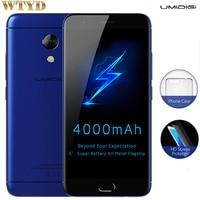 UMIDIGI C2 4GB 64GB Fingerprint Identification 5 0 2 5D Arc Screen Android 7 0 MTK6750T