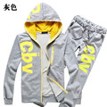 Mens Hoodies and Sweatshirts Sweat Suit Brand Clothing Men's Tracksuits Jackets Sportswear Sets Jogger Suits Hoodies Men 2016