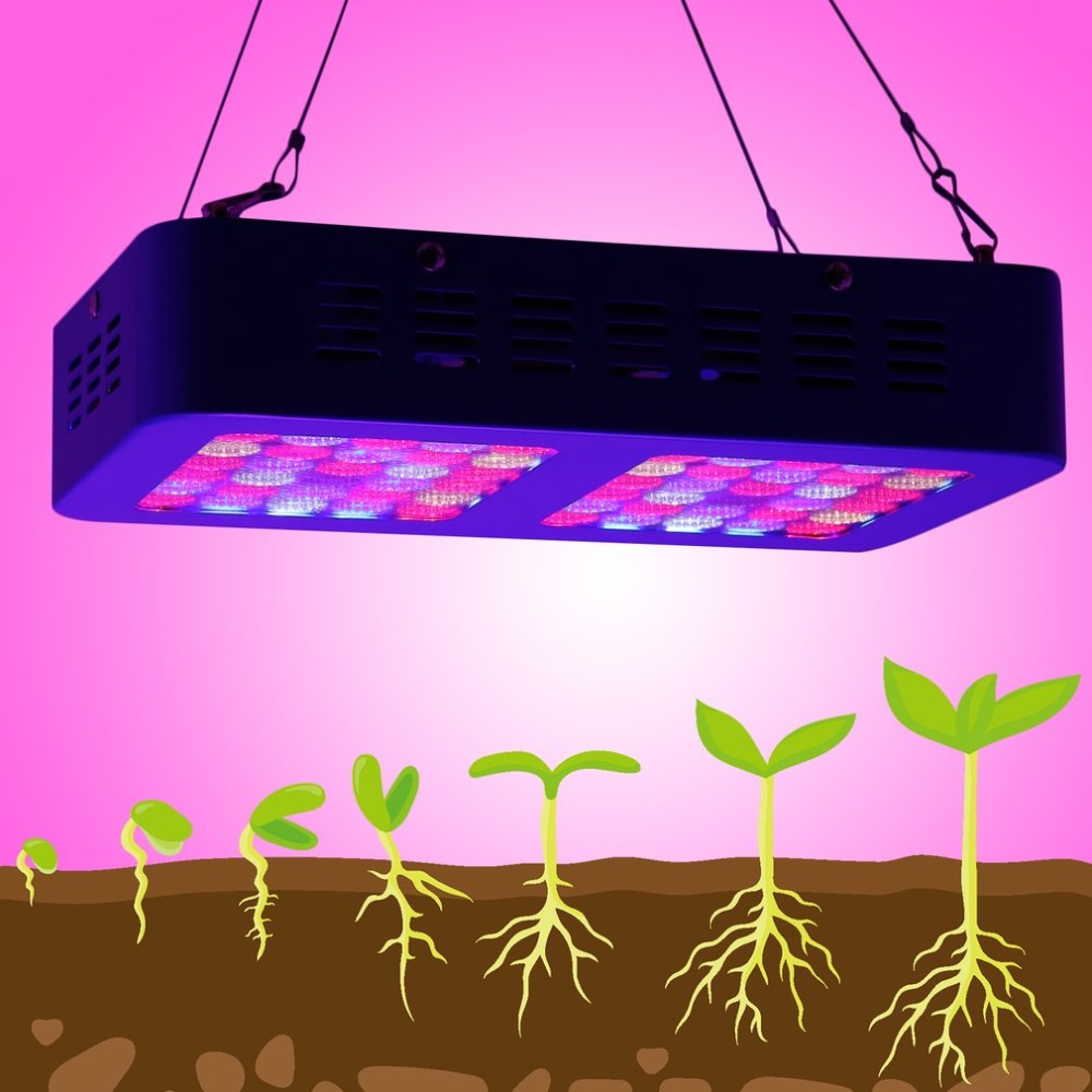 300W LED Plant Grow Light Full Spectrum Plants Growth Lamp Greenhouse Hydroponics System For Indoor Or Desktop Plants AC100-240V full spectrum led grow light 300w 1000w led grow lamp for indoor greenhouse plants hydroponics bloom growth high yield