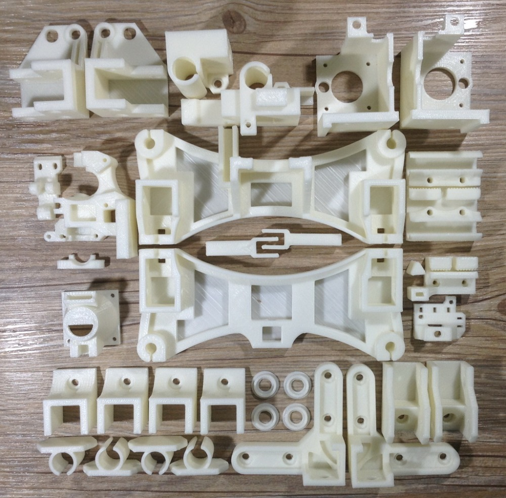 2015 Reprap Wilson TS 3D Printer Updated Printed Parts Kit Plastic Parts Kit, Used for Standard J-head Hot end image