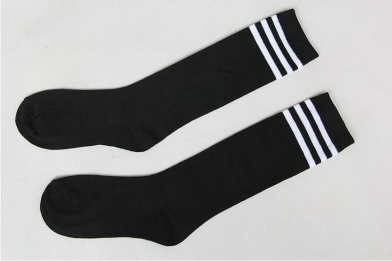 c14b7aad7 Striped Boys Girls Kids Knee High Socks For Football Sports School 2017  Fashion Cotton Easy To Dry Socks Long Tube Leg Warmers