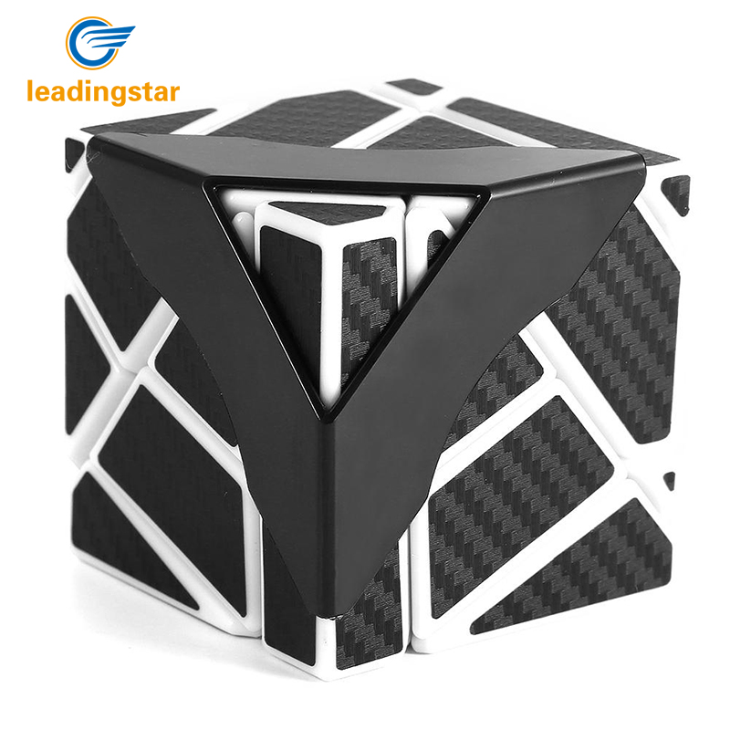 LeadingStar Newest Ghost Cube (Black Blue Pink Yellow Color,assembled without stickering) Magic Cube Puzzle Toys zk30 браслет vitacci vitacci mp002xw0jb3g