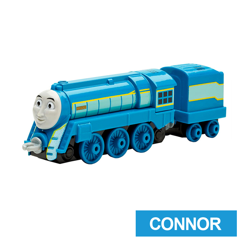 x7 Gift 1: 64 Vehicles Diecasts Thomas with hook CONNOR Thomas And Friends Magnetic Thomas Truck Engine Train Toys For Boys