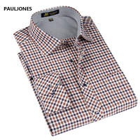 2013 NEW Mens Shirt Long Sleeve Fine Plaid Brand Dress Shirt Men Business Man Casual Shirts