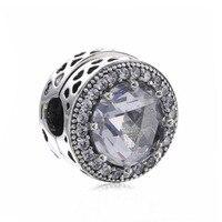 Neue Ankunft Top Qualität Beliebte 925 Sterling Silber Cat Eye Clip Charme Passend Europäischen Berühmte Armband