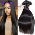 Ali moda hair products Peruvian virgin hair straight Cheap Human Hair 3 bundle deals TOP 7A Peruvian Straight Virgin Hair Weave