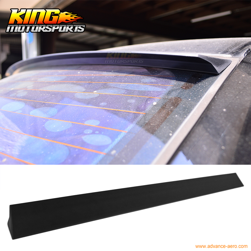 For 2005-2009 VW Passat B6 VRS Style Unpainted Rear Roof Spoiler Wing Visor - PUF for 09 10 11 mazda 6 2nd vrs style roof spoiler wing unpainted puf