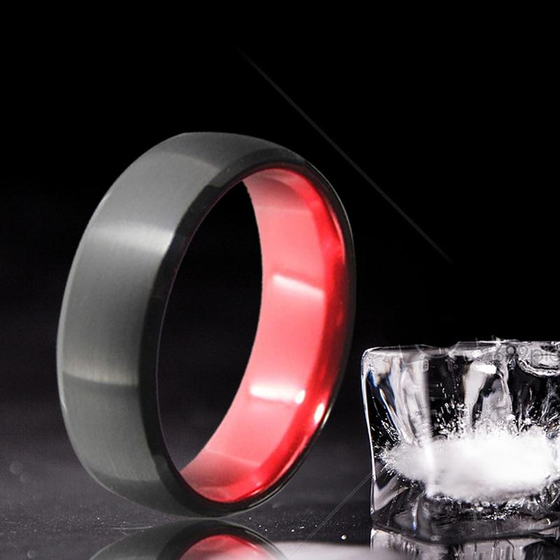 8 χιλιοστά μαύρο και κόκκινο χρώμα - Κοσμήματα μόδας - Φωτογραφία 3