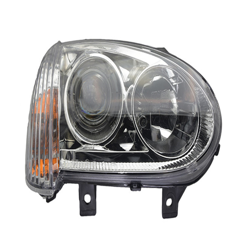 Pair High Quality Front Bumper Headlight For Great Wall Wingle 3 Wingle3 2006 2007 2008 2011 Headlamp Manual Electric