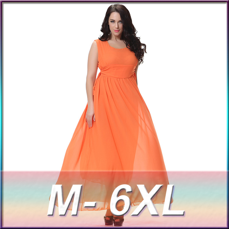 Summer <font><b>Dress</b></font> 2019 Bohemia Style <font><b>Plus</b></font> <font><b>Size</b></font> <font><b>Women</b></font> <font><b>Clothing</b></font> <font><b>5XL</b></font> <font><b>6XL</b></font> Tank <font><b>Dress</b></font> For <font><b>Women</b></font> <font><b>Sexy</b></font> Slim Maxi <font><b>Dress</b></font> image