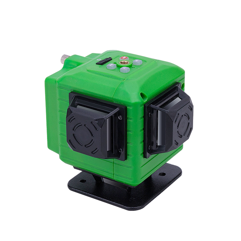 NEW Electronic leveling Green laser level 3D line meter Remote control operation