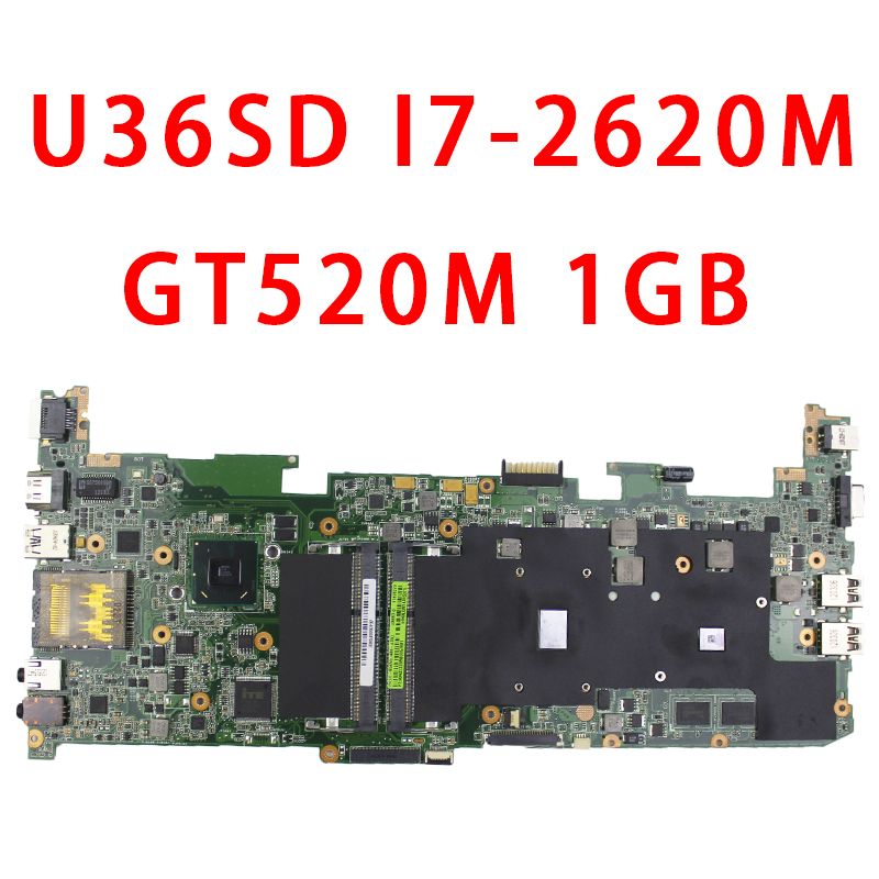 U36SD motherboard with I7-2620 CPU U36SG U44SG laptop motherboard REV 2.1 GT610 1G 100% Tested grid design shirt in multi color