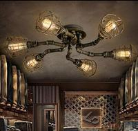 Europe and the United States style retro nostalgia industrial wind barber shop tea house and office iron Pendant lamp LO8185