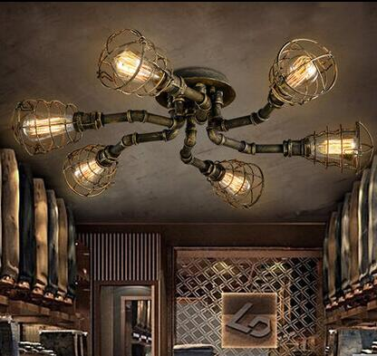 Europe and the United States style retro nostalgia industrial wind barber shop tea house and office iron Pendant lamp LO8185 europe and the united states new handsome british wind pointed thick boots snake belt buckle especially exquisite single boot
