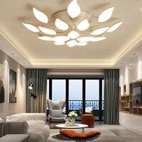 LED Plafondlamp Abajur Lustre Blaker Luminaria Kroonluchter Plafond Avize Verlichtingsarmaturen Lamp