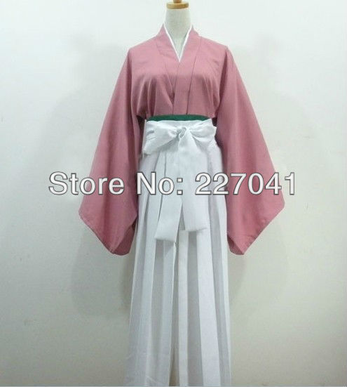 Free shipping Hakuouki Chizuru Yukimura kimono cosplay costume Custome Made