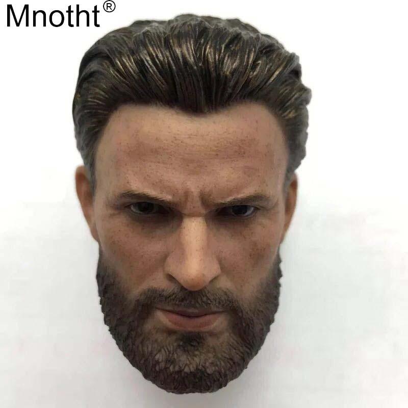 """Flashback 1//12 Doctor Strange Head Sculpt Carved Toy Fit 6/"""" Action Figure"""