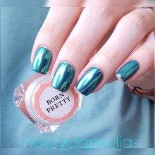 Mirror Nail Glitter Pigment Powder