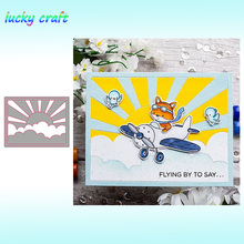 Luck YCraft sun frame Metal Cutting Dies for DIY Scrapbooking Embossing Paper Cards Making Crafts Cut New 2019