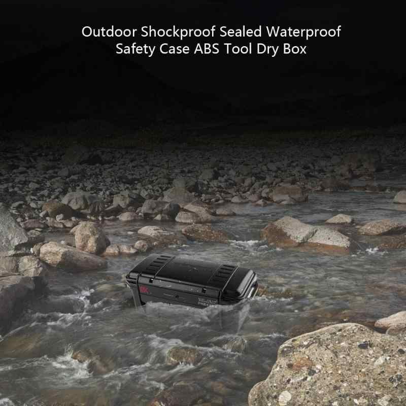 Absプラスチック屋外耐衝撃防水セーフティ機器ケースポータブルツールボックスドライボックス屋外ツール3サイズ