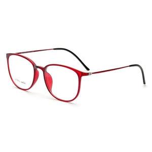 Image 1 - Colorful Fashion Glasses Slim Frame Eyeglasses Frame Optical Glasses Spectacles 2212 Prescription Eyewear with 8 Optional Colors