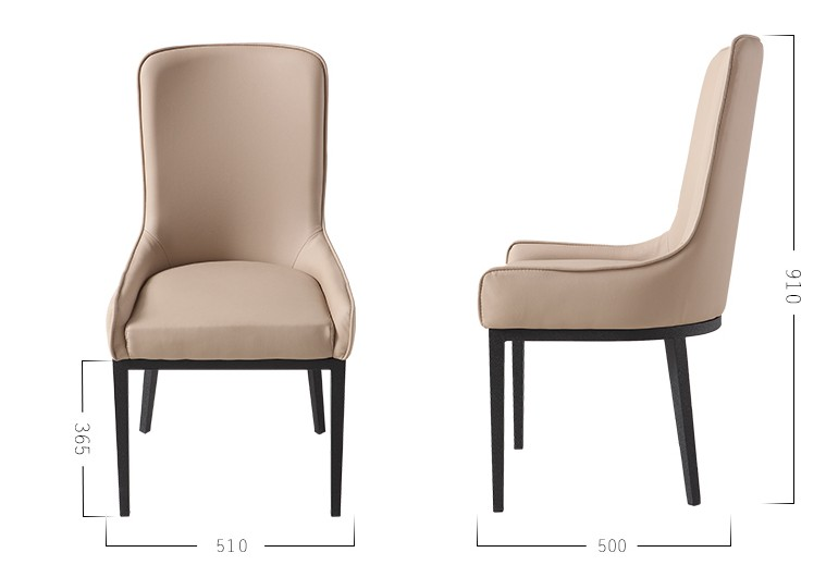 Mybest Furn Home Furniture Dining Room Chairs Hotel Cadeira Fauteuil Pouf Solide Wood Structure Tables