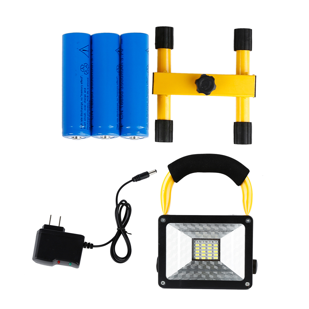 HTB1GQt3xeSSBuNjy0Flq6zBpVXa4 - Waterproof 1000lm Rechargeable Flood Portable 220V Iron Outdoor Emergenency Light Garage Lamp Construction Site Spotlight