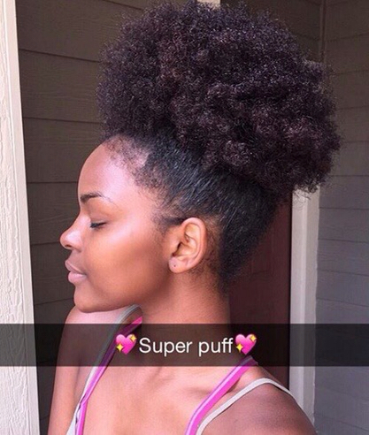Afro Puff Ponytail Hairstyles Find Your Perfect Hair Style