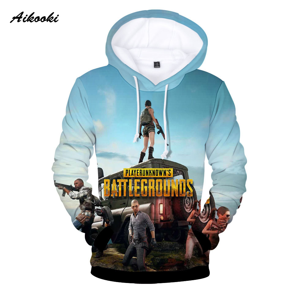 Aliexpress Com Buy Aikooki Battlegrounds 3d Hoodies Men Women