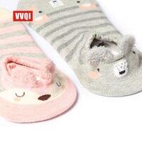 VVQI Lato kobiety skarpetki południe Koreański styl cienkie słodkie Japoński niska dziewczyna skarpety skarpet niewidocznych kot Kreskówka skarpetki bawełniane nowość 5