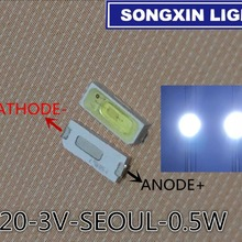 Seoul Samsung Smd Led Tv-Backlight White 3V 5620 Cold 6020 for 54LM 50pcs/Lot 160ma