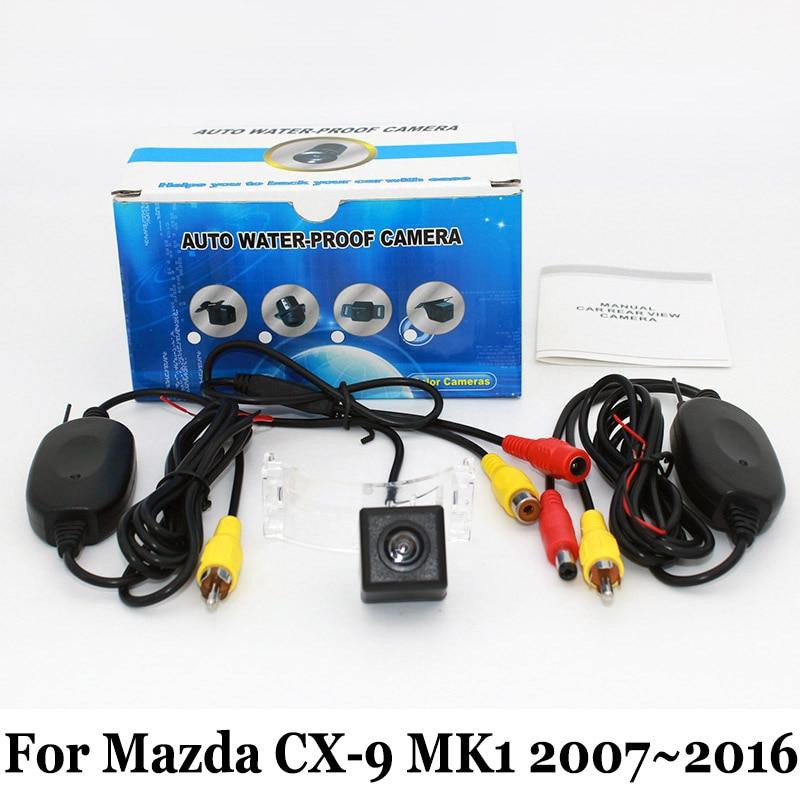 Car Rear View Camera For Mazda CX 9 CX9 CX 9 2007~2015