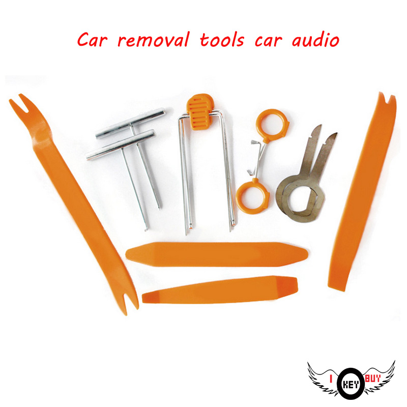 I Key Buy Brand New 12 Pieces Of Car Scrap Audio Door Trim Noise Seal Doors Disassembly Tool Value 12 Sets in Enclosed Subwoofer Systems from Automobiles Motorcycles
