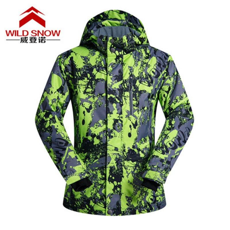 Nouveau hiver Ski vestes costume hommes en plein air thermique imperméable coupe-vent Snowboard vestes escalade neige Ski porter PYJ-009