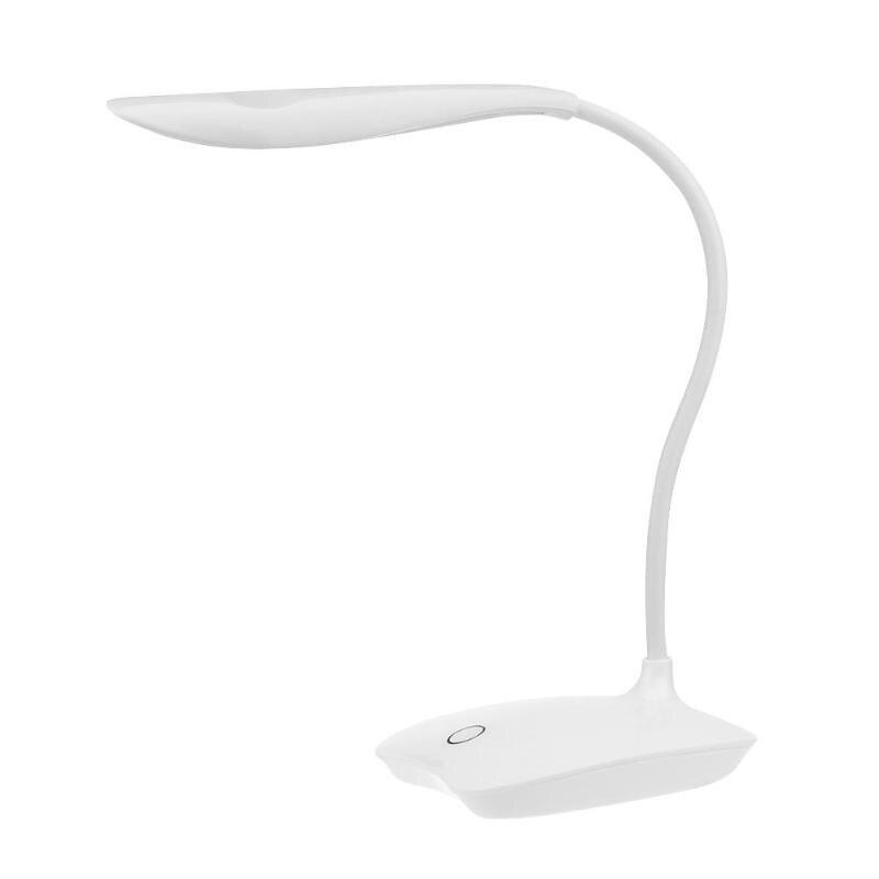14 LEDs USB Charging Reading Light 3 Mode Flexible Table Lamps Touch Sensor Dimmable Reading Study White Light Desk Lamp hot