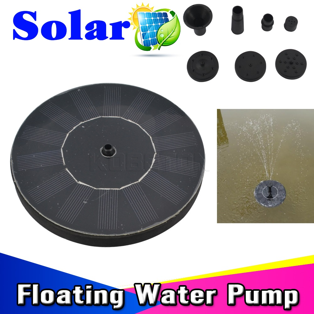 Water fountains masters - High Quality 7v Floating Solar Water Pump Panel For Garden Plants Watering Power Fountain Pool Water
